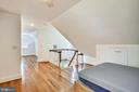Bedroom on 4th level  en suite bath - 3038 N PEARY ST, ARLINGTON