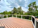 View from Deck - 42603 OFFENHAM TER, CHANTILLY