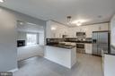 Wonderfully remodeled kitchen - 5975 FIRST LANDING WAY #3, BURKE