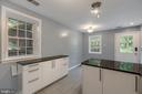 Counter to right can be used as an eating space - 5975 FIRST LANDING WAY #3, BURKE