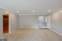Recessed lighting and brand new carpeting - 5975 FIRST LANDING WAY #3, BURKE