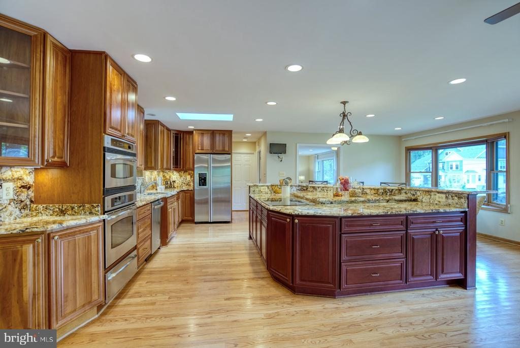 kitchen designed by Michael Nash - 9900 MOSBY RD, FAIRFAX