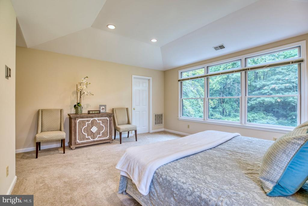 spacious primary bedroom - 9900 MOSBY RD, FAIRFAX