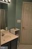 First bathroom - 6505 SPRINGWATER CT #7401, FREDERICK