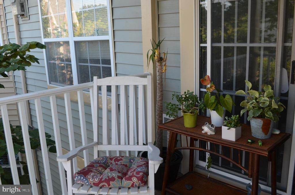Beautiful balcony to relax on - 6505 SPRINGWATER CT #7401, FREDERICK