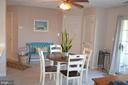 Bright! Ceiling fan also... - 6505 SPRINGWATER CT #7401, FREDERICK