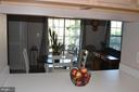 Pass-through from kitchen to living area - 6505 SPRINGWATER CT #7401, FREDERICK