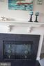 Gas fireplace - 6505 SPRINGWATER CT #7401, FREDERICK