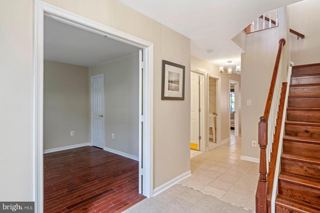 Entry to Main Lower Level from Front Door - 22916 REGENT TER, STERLING