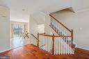 Hardwood Floors Throughout the Townhome - 22916 REGENT TER, STERLING