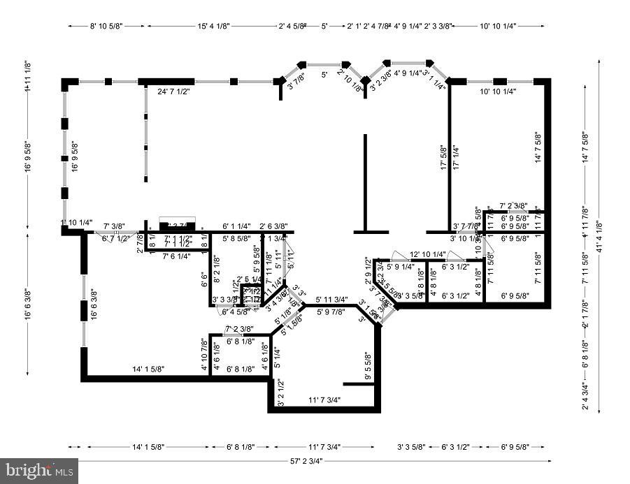 FloorPlan - 11776 STRATFORD HOUSE PL #407, RESTON