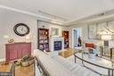 Living Room - 11776 STRATFORD HOUSE PL #407, RESTON
