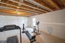 Unfinished 5th Bedroom - 3353 SOARING CIR, WOODBRIDGE