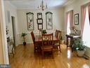 Spacious formal dining room for holiday dinners - 8300 MUSKET RIDGE LN, FREDERICKSBURG