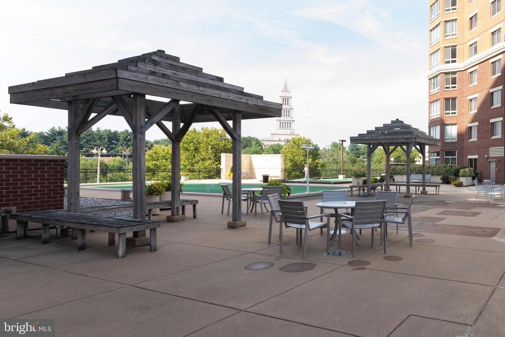 Fourth floor rooftop amenities - 2181 JAMIESON AVE #2010, ALEXANDRIA
