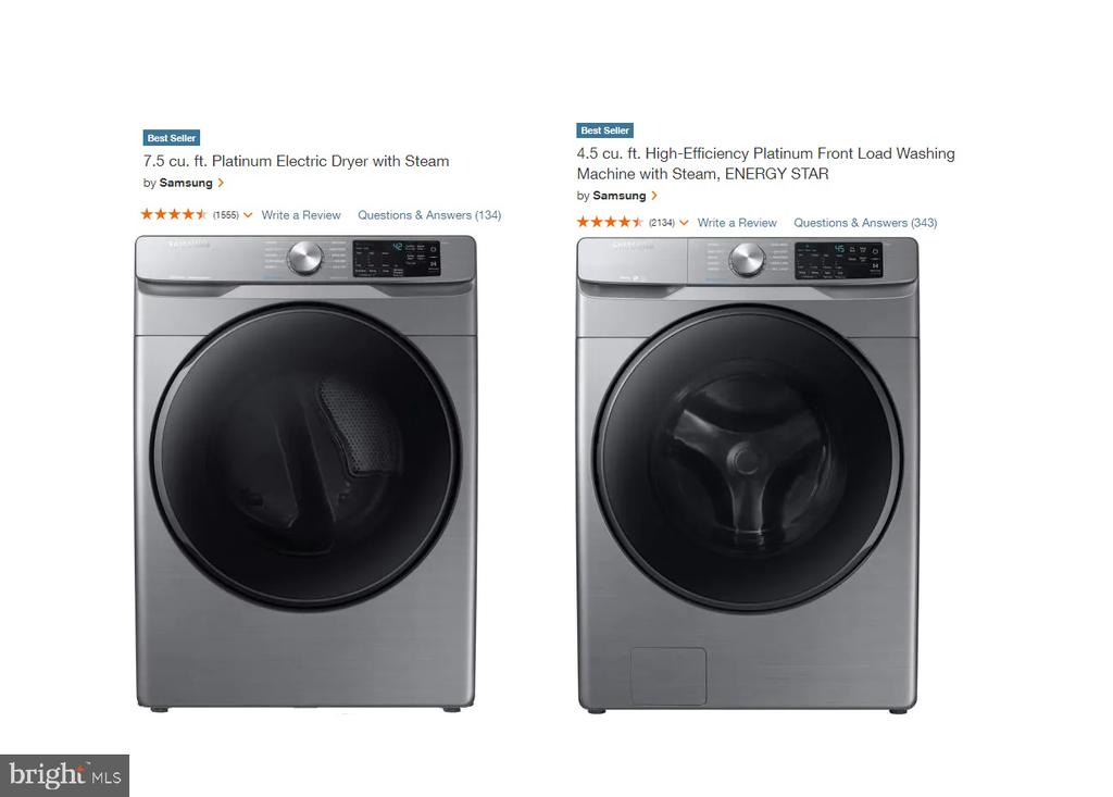 New Washer and Dryer - 108 HAMILTON RD, STERLING