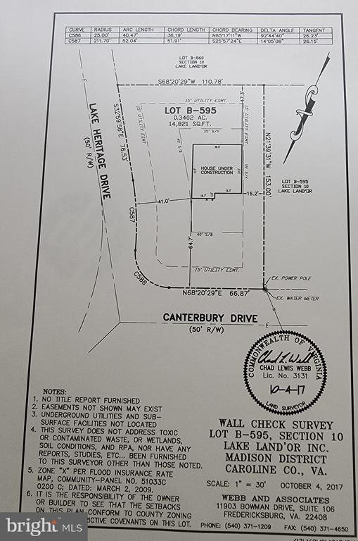 Oversized corner lot with mature trees - 701 CANTERBURY DR, RUTHER GLEN
