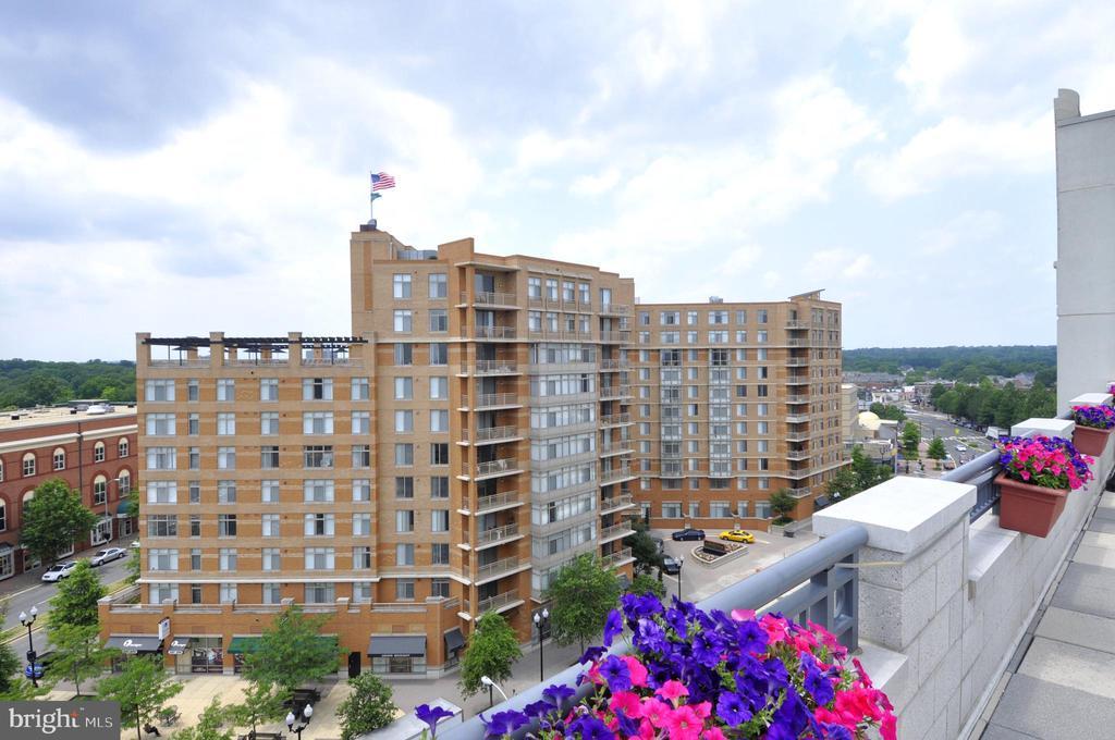 Rooftop View - Southwest - 1021 N GARFIELD ST #621, ARLINGTON