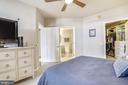 Spacious primary bedroom - 1021 N GARFIELD ST #621, ARLINGTON