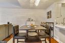 Dining Area - 1021 N GARFIELD ST #621, ARLINGTON