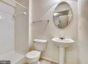 Basement bath - 5970 EDGEHILL CT, ALEXANDRIA