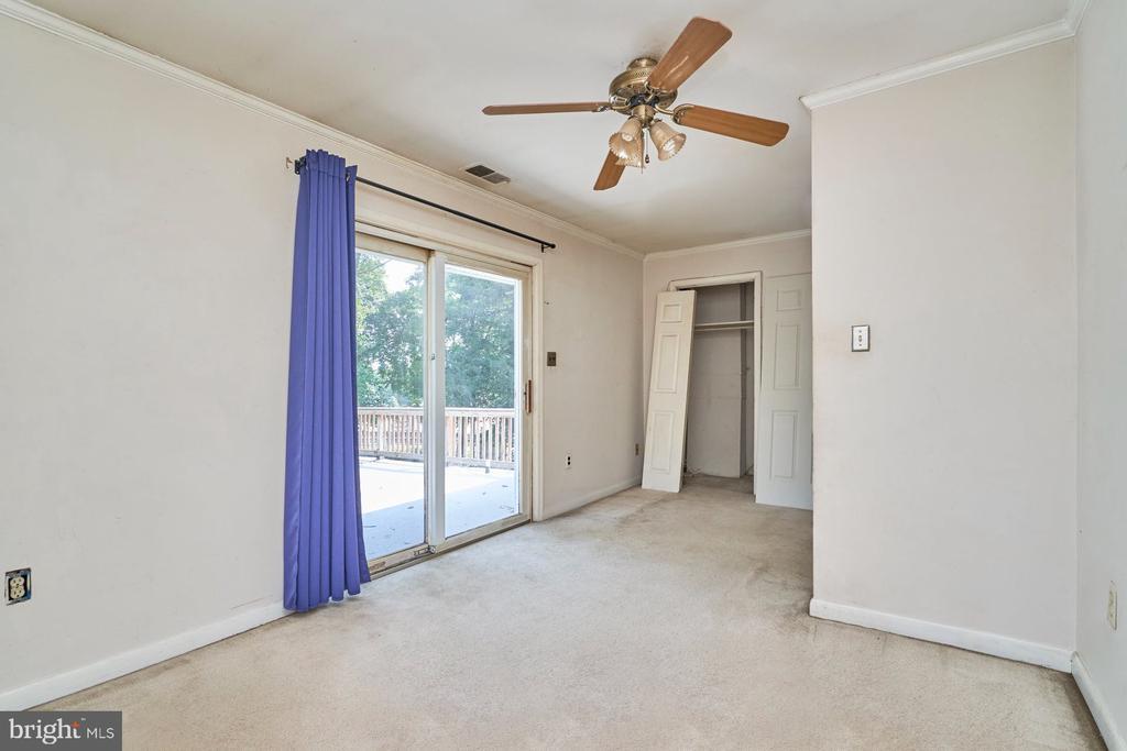 Secondary Bedroom - 8724 CHERRY DR, FAIRFAX