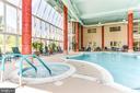 Indoor pool/spa in the clubhouse - 19365 CYPRESS RIDGE TER #816, LEESBURG