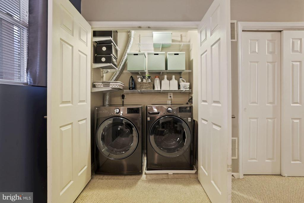 Laundry Room - New Washer & Dryer (2020)! - 6342 JAMES HARRIS WAY, CENTREVILLE