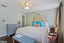 Primary Bedroom - Your King Bed Will Easily Fit! - 6342 JAMES HARRIS WAY, CENTREVILLE