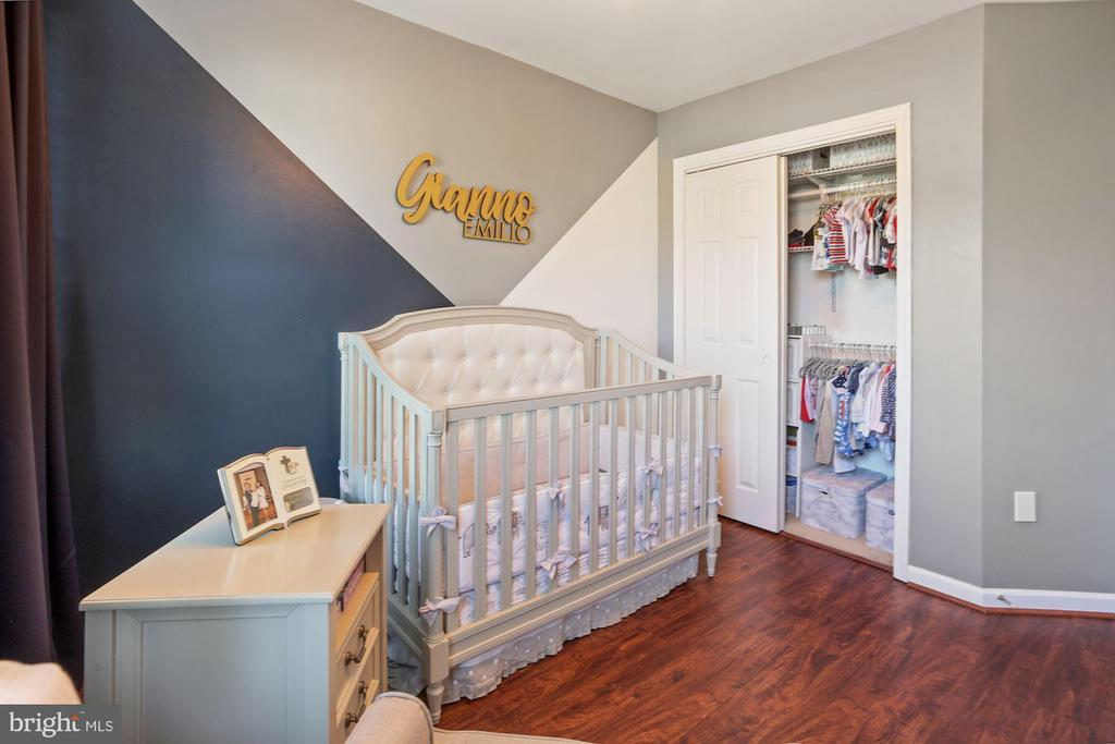 Bedroom #2 - Designer Perfect & Custom Closet! - 6342 JAMES HARRIS WAY, CENTREVILLE