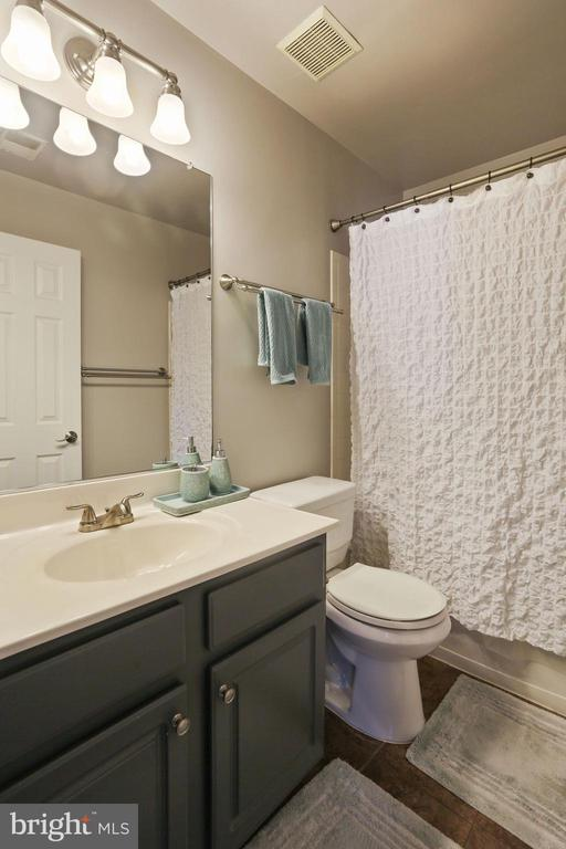 Full Bathroom #2 - Gray Cabinetry! - 6342 JAMES HARRIS WAY, CENTREVILLE
