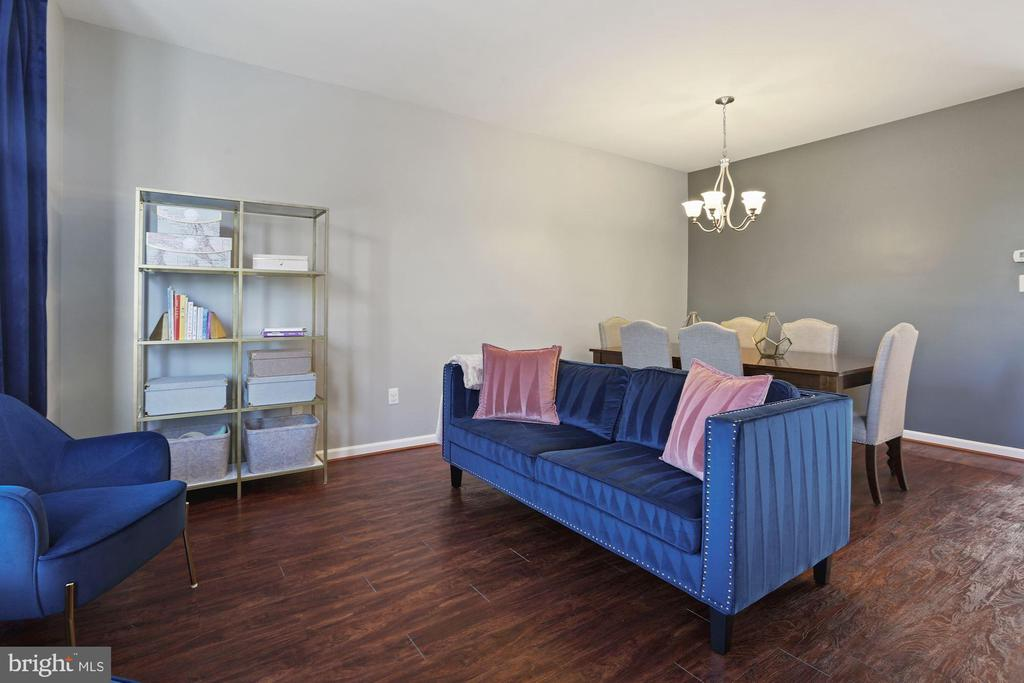Living Room - Freshly Painted! - 6342 JAMES HARRIS WAY, CENTREVILLE