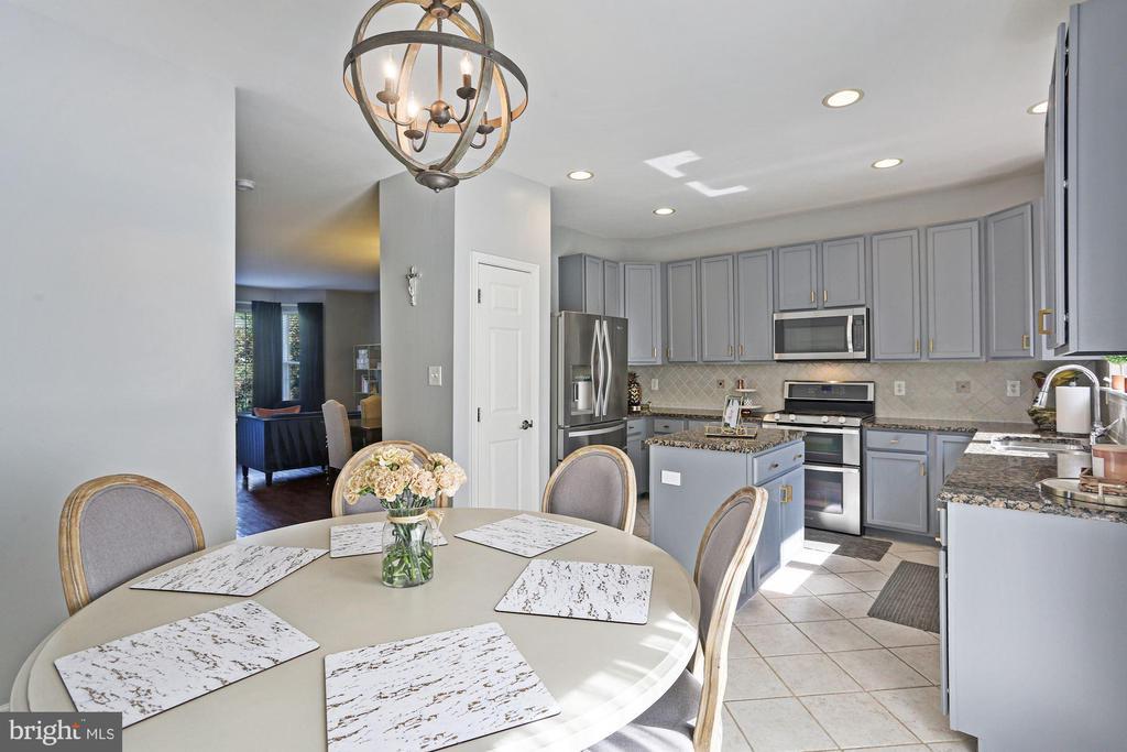 Kitchen Features Recess Lighting & Ceramic Floors! - 6342 JAMES HARRIS WAY, CENTREVILLE