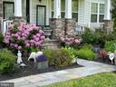 Front Flower Beds in the Spring - 41192 BLACK BRANCH PKWY, LEESBURG