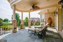 Great Slate Patio off of the Owners Luxury Suite - 15830 SPYGLASS HILL LOOP, GAINESVILLE