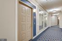 Quiet hallways and not far from the elevator - 19365 CYPRESS RIDGE TER #1021, LEESBURG