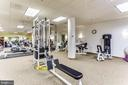 Stay in shape in the fitness room - 19365 CYPRESS RIDGE TER #1021, LEESBURG