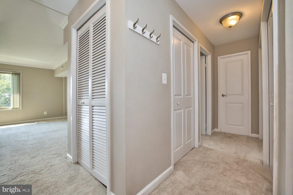 Hallway - 10570 MAIN ST #517, FAIRFAX