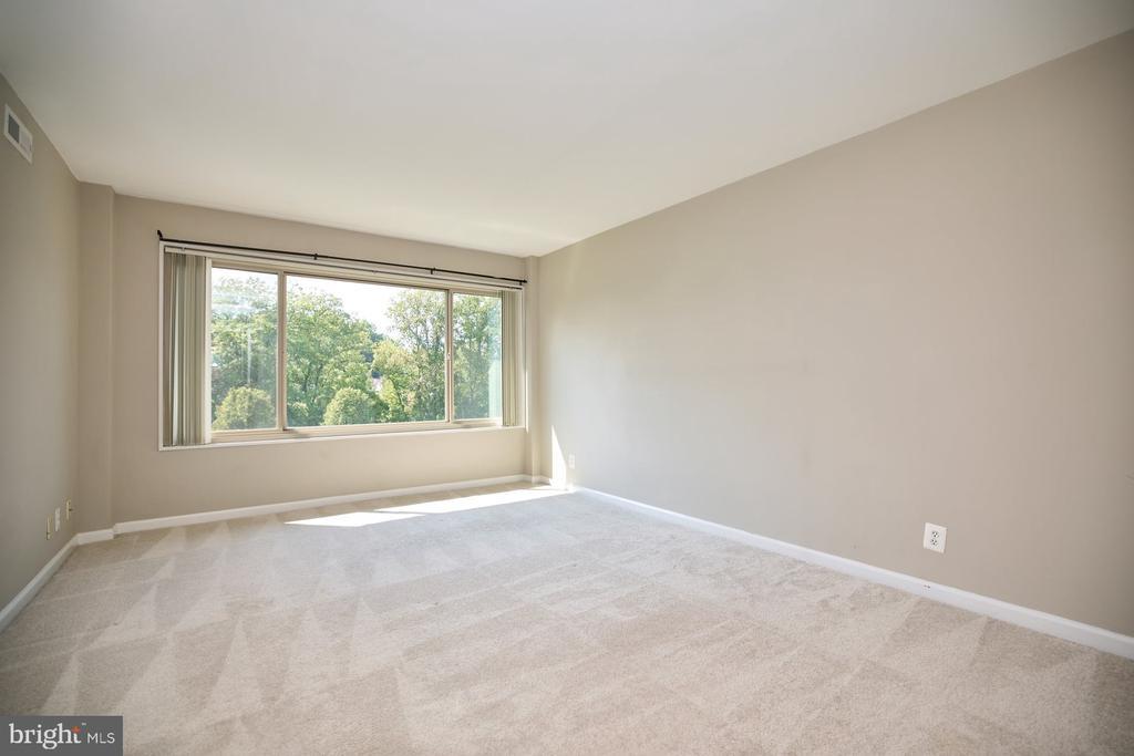 Bedroom with Large Window - 10570 MAIN ST #517, FAIRFAX