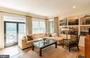Family Room w/ Deck Access - 7804 ORCHARD GATE CT, BETHESDA