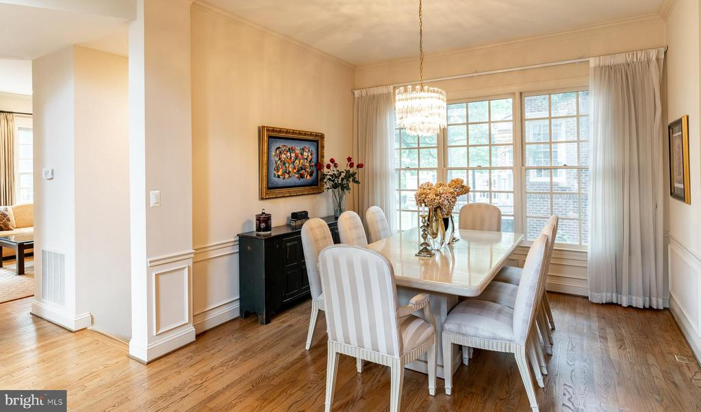 Formal Dining Room - 7804 ORCHARD GATE CT, BETHESDA