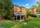 Private Flagstone Patio w/ Spiral Staircase to Dec - 7804 ORCHARD GATE CT, BETHESDA
