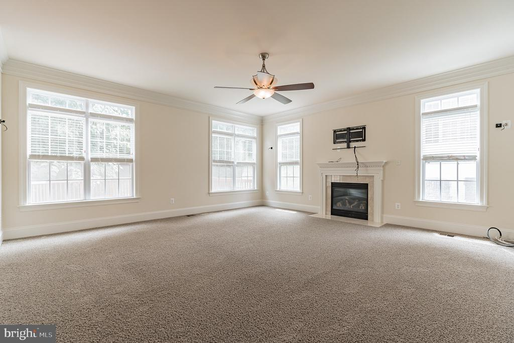 ROOM W/ fIREPLACE - 3336 DONDIS CREEK DR, TRIANGLE