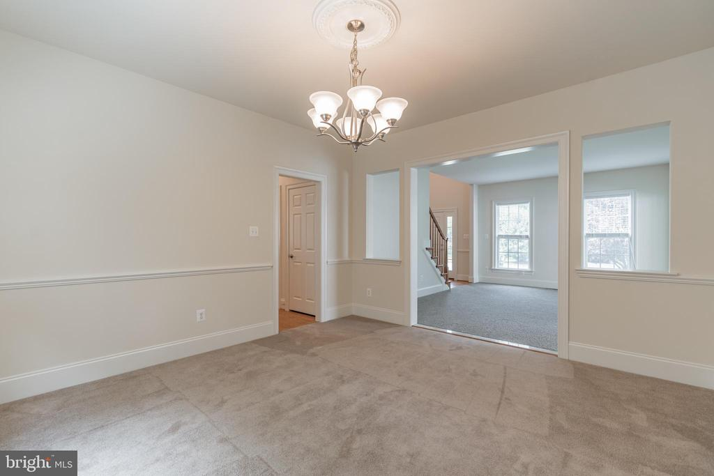The dining room will hold 10 - 3336 DONDIS CREEK DR, TRIANGLE