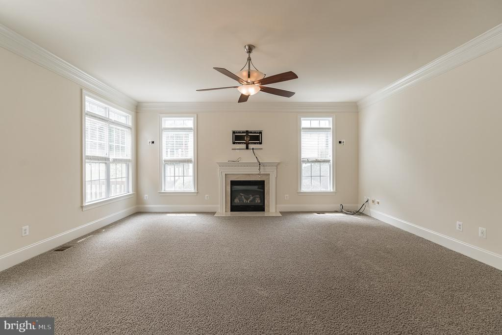 Family Room w Gas Fireplace - 3336 DONDIS CREEK DR, TRIANGLE