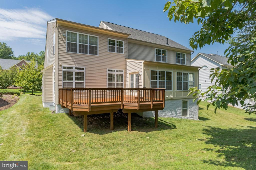 Private Deck. - 3336 DONDIS CREEK DR, TRIANGLE