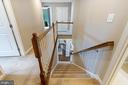 Heading up to the bedroom level... - 2300 HARMSWORTH DR, DUMFRIES