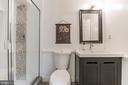 Lower Level Ensuite Full Bath Bath - 1406 POWELLS TAVERN PL, HERNDON