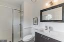 Renovated Primary Bath - 1406 POWELLS TAVERN PL, HERNDON
