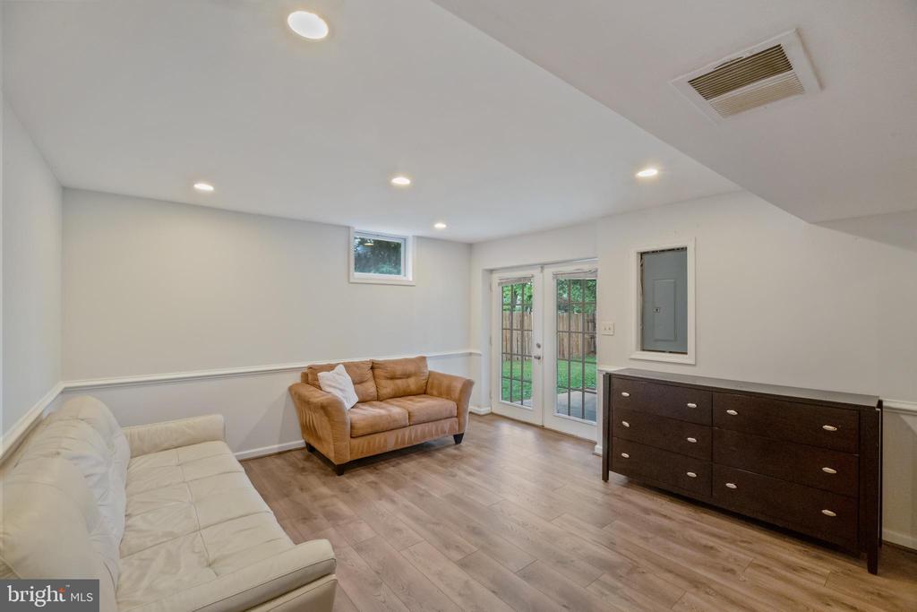 Lower Level Recreation Room - 1406 POWELLS TAVERN PL, HERNDON